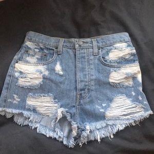 NWT LF Carmar jean shorts